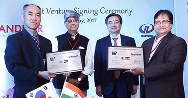 Sandhar Technologies Signs JV With Daewha Fuel Pump